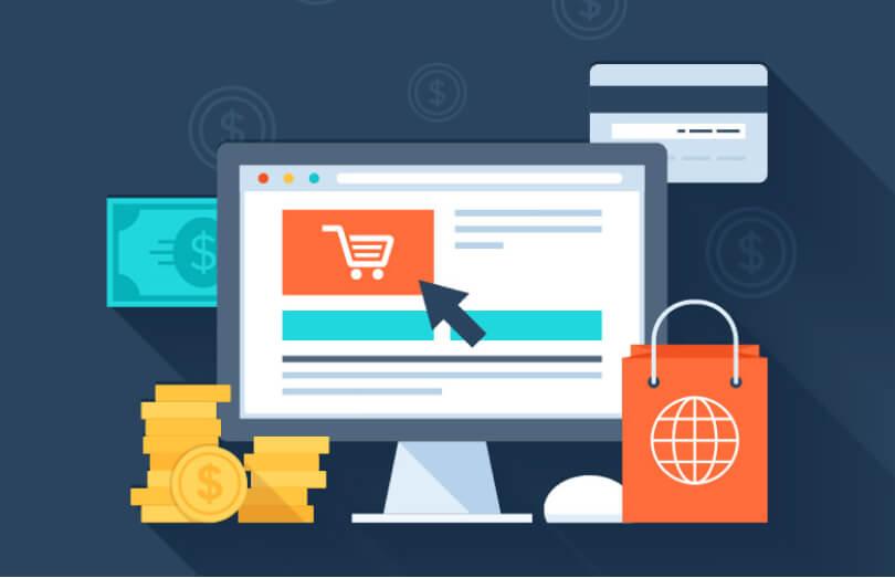 Il sito vetrina non è l'e-commerce che l'immagine rappresenta